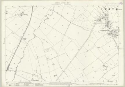 Buckinghamshire XXIII.1 (includes: East Claydon; Granborough; Hogshaw) - 25 Inch Map