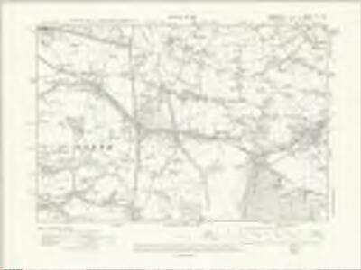 Cheshire XX.SW - OS Six-Inch Map