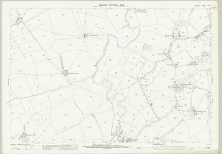 Dorset VII.10 (includes: Marnhull; Stalbridge; Sturminster Newton) - 25 Inch Map