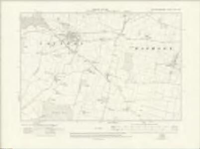 Nottinghamshire XXX.NW - OS Six-Inch Map