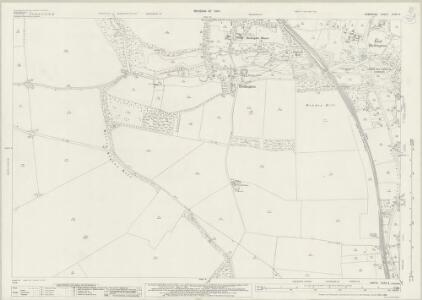 Hampshire and Isle of Wight XXXII.4 (includes: Barton Stacey; Bullington; Wonston) - 25 Inch Map
