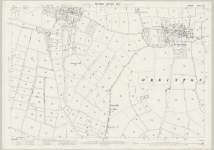 Somerset LI.15 (includes: Catcott; Greinton; Moorlinch; Shapwick) - 25 Inch Map