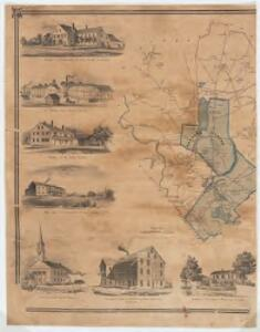 Map of the town of Gardner, Worcester Co., Mass. : from actual surveys : Western sheet