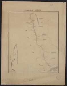 Itinéraire de Kita au Niger et à Kéniéra suivi par la colonne expéditionnaire commandée par le Lt Colonel Borgnis-Desbordes. Niafadie-Niger