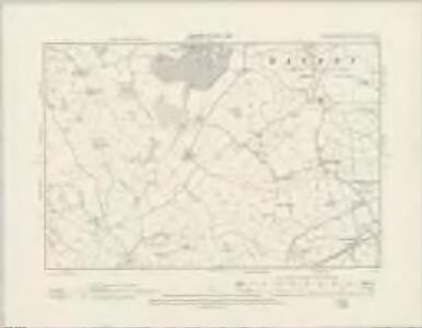 Staffordshire XXXVI.SE - OS Six-Inch Map