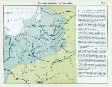 Nr. 12. Die ersten Schlachten in Ostpreußen