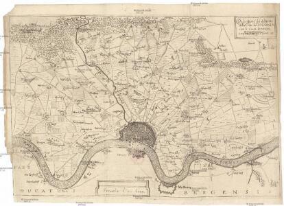 Descritione' del distretto della citta' di Colonia con li suoi termini confini, villagi e terre &