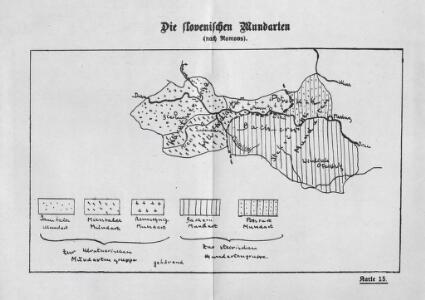 Die slovenischen Mundarten