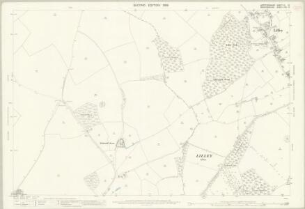 Hertfordshire XI.10 (includes: Lilley; Luton; Offley; Streatley) - 25 Inch Map