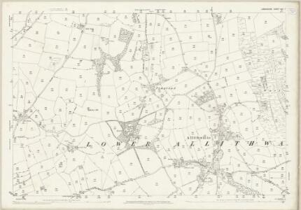Lancashire XVII.7 (includes: Grange; Lower Allithwaite; Lower Holker) - 25 Inch Map