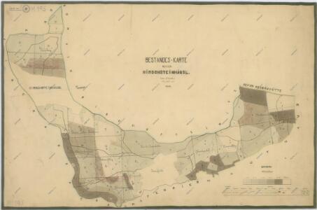 Porostní mapa revíru Herštejnské Chalupy