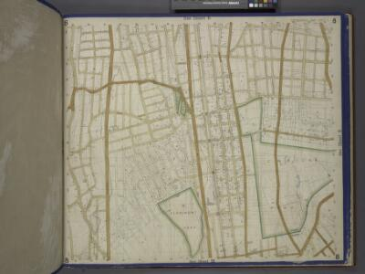 Bronx, Topographical Map Sheet 8; [Map bounded by Buchanan PL., 4th St., Webster Ave., Grove St., 3rd Ave., Quarry Road, Boston Road; Including 170th St., Elliot St., Findlay Ave., Mott Ave., Jerome Ave., 1st Ave., Macombs Dam Road]