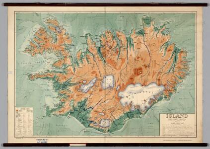 Iceland -- Physical-Political