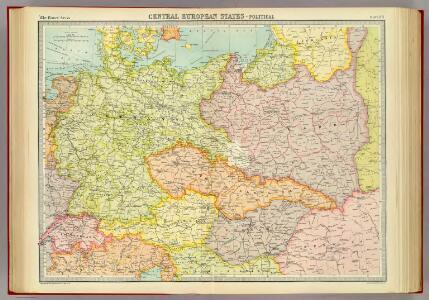 Central European states - political.
