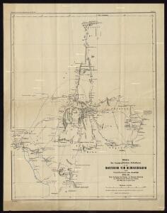 Skizze der topographischen Aufnahmen in der Umgebung von Bismarckburg durch Premierleutnant von Doering 1893 - 95