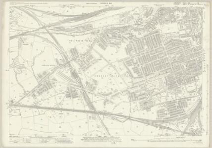 Lancashire CXI.16 (includes: Cheadle And Gatley; Stockport) - 25 Inch Map
