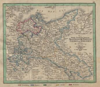Die Königl. Preussischen Provinzen Brandenburg Pommern Sachsen und Schlesien nebst Mecklenburg