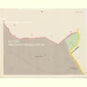 Königswarth - c3820-1-003 - Kaiserpflichtexemplar der Landkarten des stabilen Katasters