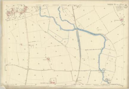 Huntingdonshire IV.3 (includes: Elton; Fotheringhay; Nassington) - 25 Inch Map
