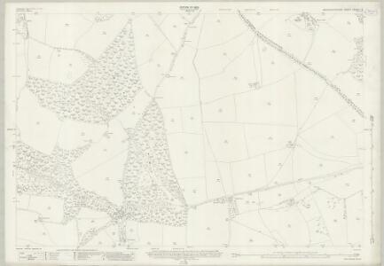 Gloucestershire XXXVIII.16 (includes: Newland; St Briavels) - 25 Inch Map