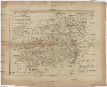 Charte vom Rakonitzer Kreise des Königreichs Böheim