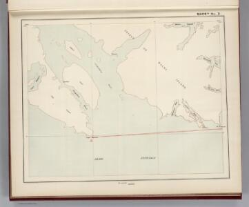 Sheet No. 3.  (Dixon Entrance, Cordova Bay, Prince of Wales Island).