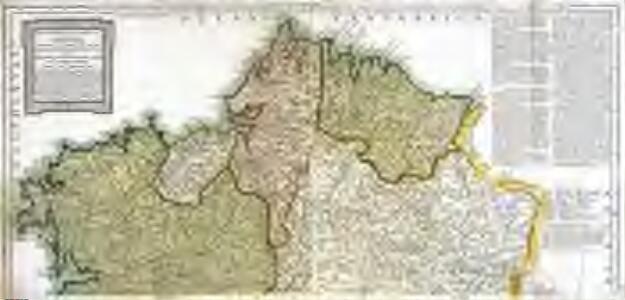 Mapa geográfico del reyno de Galicia, 1