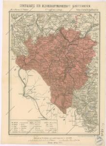 Generální mapa okresních hejtmanství