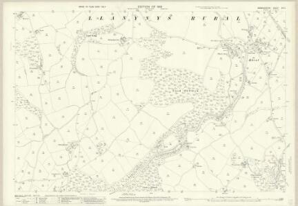 Denbighshire XIX.2 (includes: Llanfwrog Rural; Llanynys Rural) - 25 Inch Map