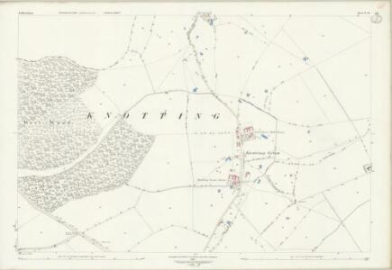 Bedfordshire IV.14 (includes: Knotting and Souldrop; Newton Bromswold) - 25 Inch Map