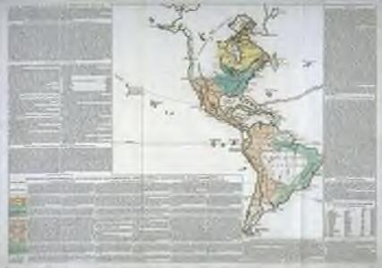 Divisions géographiques et politiques de l'Amérique, productions, découvertes, établissements, etc