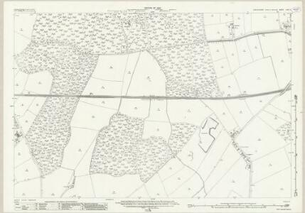 Lincolnshire LXIX.8 (includes: Doddington and Whisby; Skellingthorpe) - 25 Inch Map