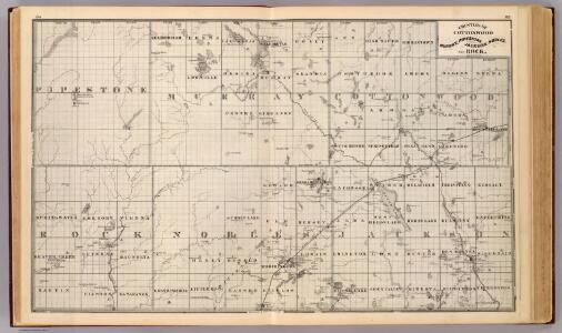 Counties of Cottonwood, Murray, Pipestone, Jackson, Nobles and Rock, Minn.