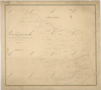 Přehledná mapa části lesního majetku panství Oberstadion-Emerkingen