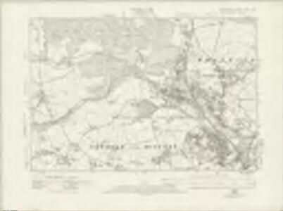 Derbyshire XVIII.SW - OS Six-Inch Map