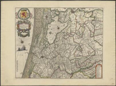 Rhenolandiae et Amstellandiae exactissima tabula