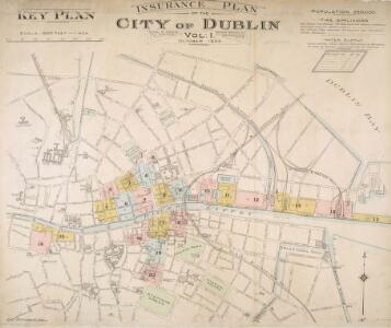 Insurance Plan of the City of Dublin Vol. 1: Key Plan