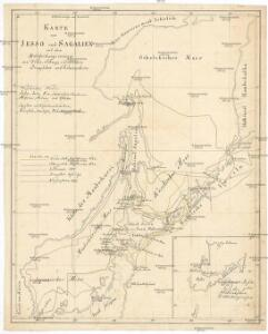 Karte von Jesso und Sagalien
