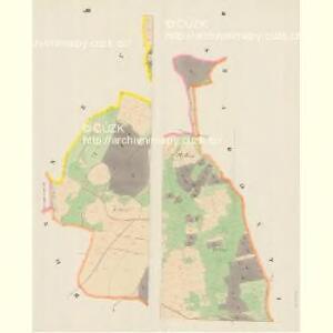 Straschkowitz - c7403-1-002 - Kaiserpflichtexemplar der Landkarten des stabilen Katasters