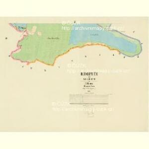 Kropitz - c3509-1-003 - Kaiserpflichtexemplar der Landkarten des stabilen Katasters