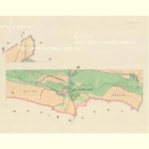 Kremitschau - m1382-1-003 - Kaiserpflichtexemplar der Landkarten des stabilen Katasters