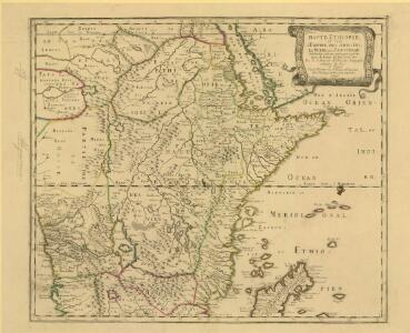 Haute Ethiopie, où sont l'Empire des Abissins