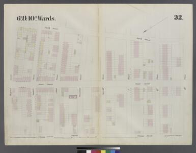 [Plate 32: Map bounded by Degraw Street, Smith Street, Third Place, Clinton Street]
