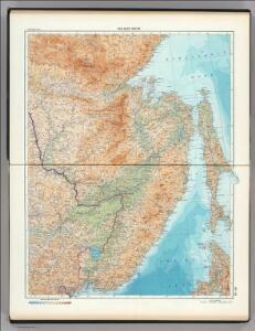 43-44.  Far East, South.    The World Atlas.