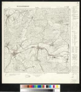 Meßtischblatt 2990, neue Nr. 5126 : Vacha, 1936