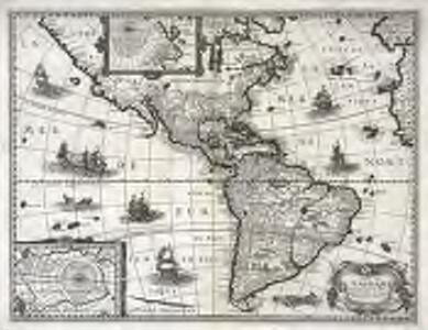 Carte de l'Ameriqve