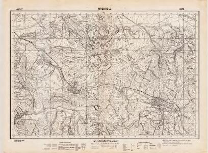 Lambert-Cholesky sheet 3472 (Măgurele)