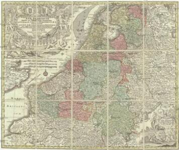 XVII provinciae Belgii sive Germaniae inferioris