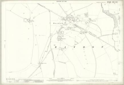 Wiltshire XXIV.5 (includes: Aldbourne; Baydon; Lambourn) - 25 Inch Map
