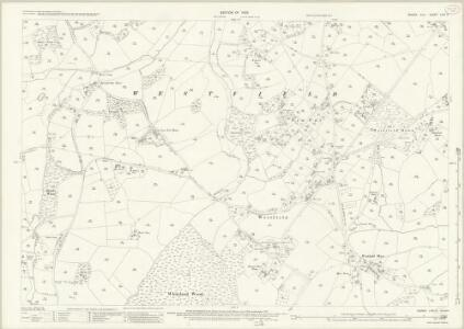 Sussex LVIII.2 (includes: Westfield) - 25 Inch Map